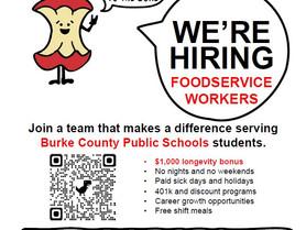 Burke County Schools is Now Hiring!