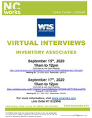 Virtual Interviews for Inventory Associates - WIS International