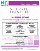 Sherrill Furniture is Now Hiring!