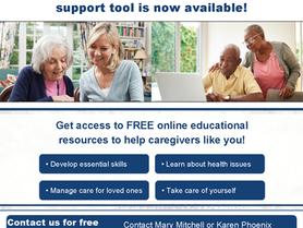 NC Caregiver Portal - A New NC Caregiver Support Tool