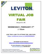 Leviton Virtual Job Fair