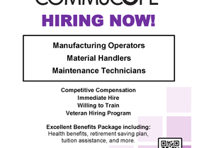 Commscope - Hiring Now!
