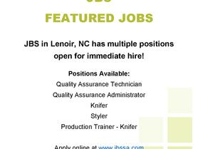Featured Jobs - JBS