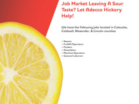 Adecco, Hickory - Job Openings in Alexander, Caldwell, Catawba and Lincoln Counties