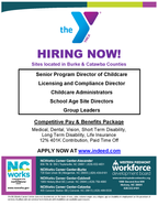 YMCA is Now Hiring for Multiple Positions