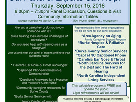 AAA Caregiver Event: Caregiving + Hearing Loss = Greater Challenges