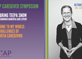 ACAP Caregiver Symposium - Oct 30 - Featuring Teepa Snow, World Renowned Dementia Care Expert