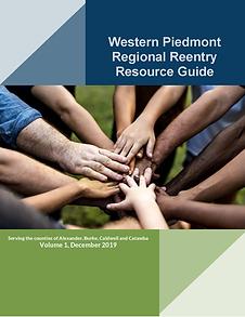 Western Piedmont Reentry Resource Guide_