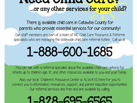 Children's Resource Center - Need Child Care or Any Other Services for Your Child?