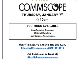 Virtual Job Fair - Commscope