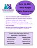 Wear Purple to Raise Awareness - World Elder Abuse Awareness Day - June 15, 2021
