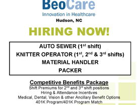 BeoCare is Now Hiring!