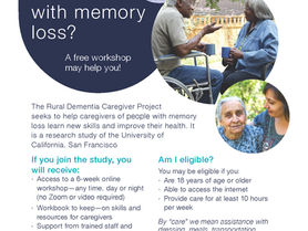 The Rural Dementia Caregiver Project