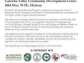 Piedmont Talent Recruitment Event Oct. 6 - Catawba Valley Community Development Center