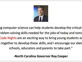 "We Are Inviting Every Elementary School in North Carolina to Host a ""Family Code Night"" - This Schoo"