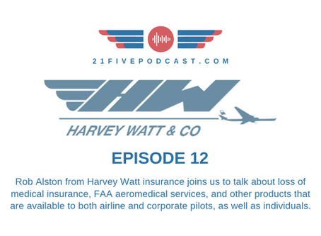Episode 12 - Rob Alston with Harvey Watt on Loss of Medical Insurance