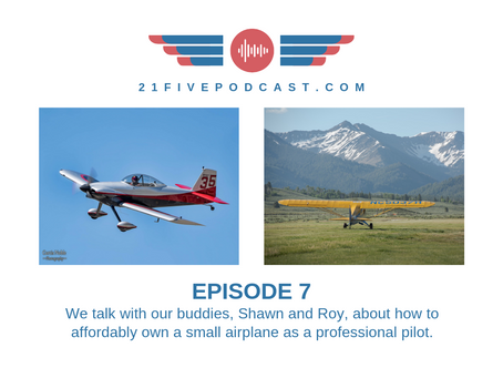 Episode 7-Professional pilots getting back into GA, SNA Destination Guide, and an overflowing toilet