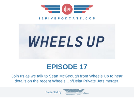 Episode 17 - Sean McGeough, Vice President of Wheels Up