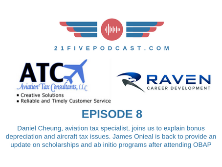 Episode 8- Storm Area 51/James Onieal on OBAP, Ab Initio, Scholarships/Daniel Cheung on Aviation Tax