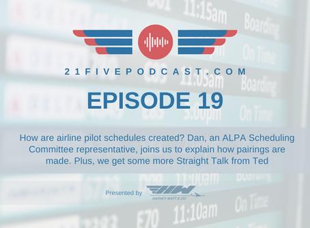 Episode 19- Building Airline Pilot Schedules