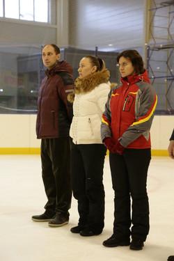 Тренеры на церемонии открытия