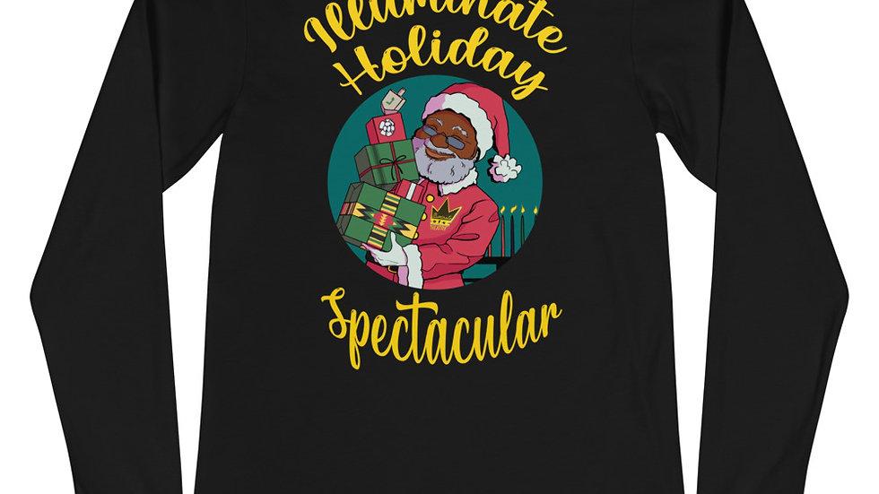 Illuminate Gold Holiday Spectacular Unisex Long Sleeve