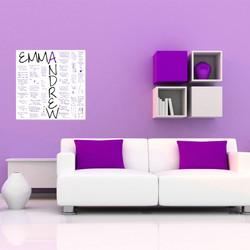Purple canvas