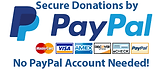 Make Your Donations To Trinity Baptist Chuch Using Paypal
