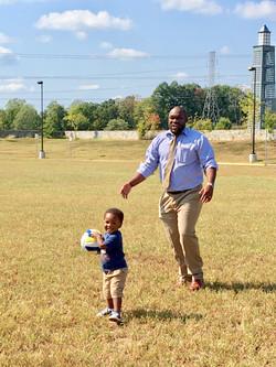 Sept. Fellowship-Father & Son 😃