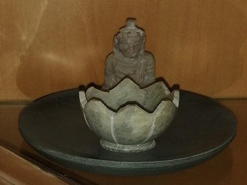 Porte encens Bouddha et Lotus