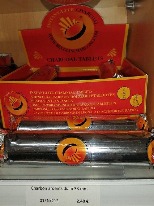 Charbon ardent 33mm