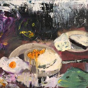 Stillleben mit Spiegelei, 2009, oil on canvas, 40x45cm.jpg