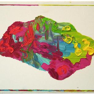 untiteld, 2014, oil on linen, 24x30cm