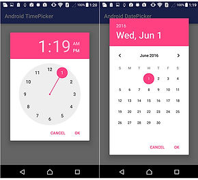 Android Separated Date Picker