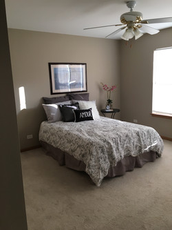 After: Townhome Master Bedroom