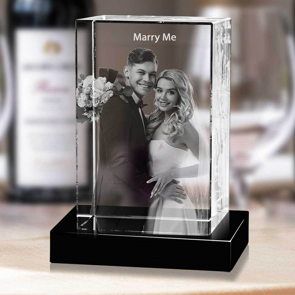 Beautiful idea for an engagement gift.