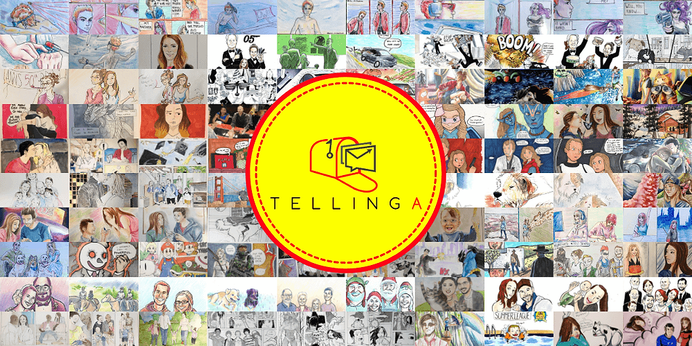 Ideas for thank you gifts by Tellinga.