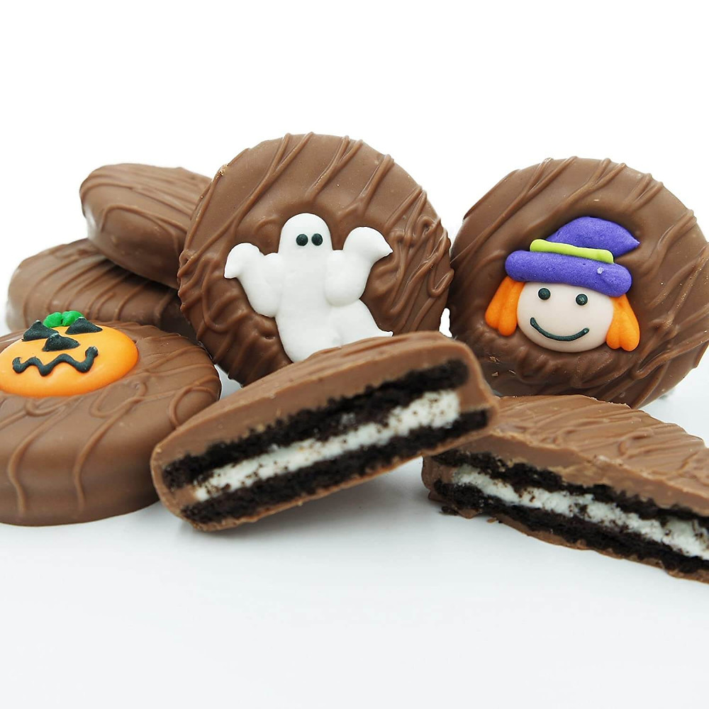 Halloween sugar cookies.