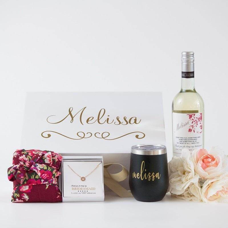 Personalized engagement gift for your favorite bride.