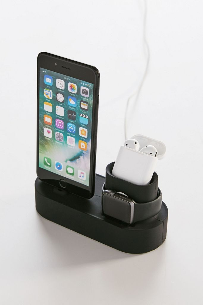 This multi-use charging station is one of the most useful secret santa gifts.