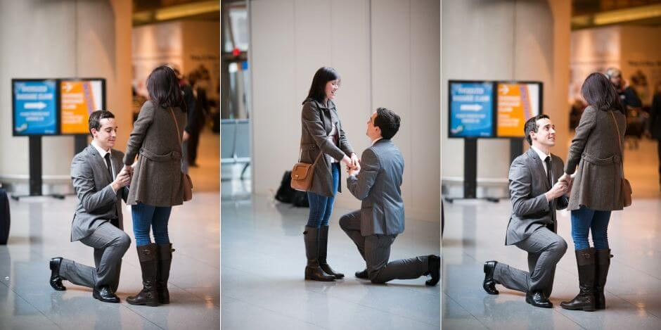 Best wedding ideas at the airport.