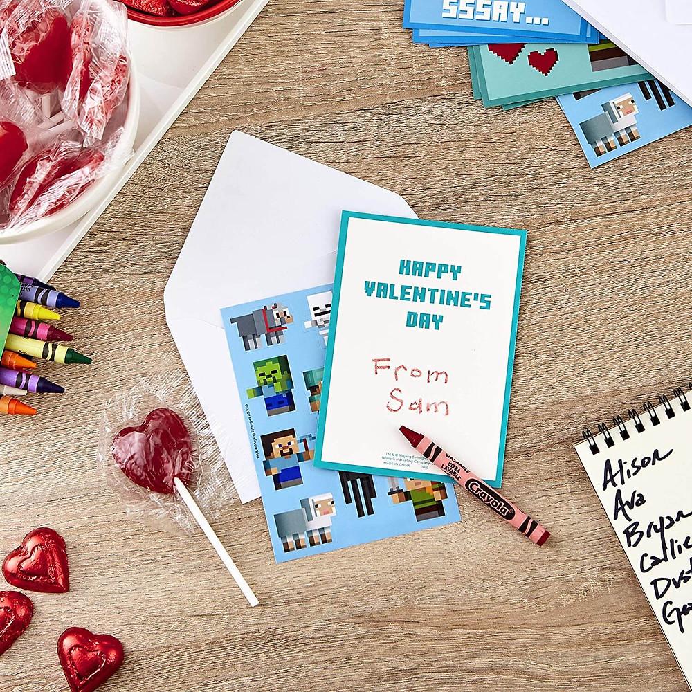 anime valentine cards