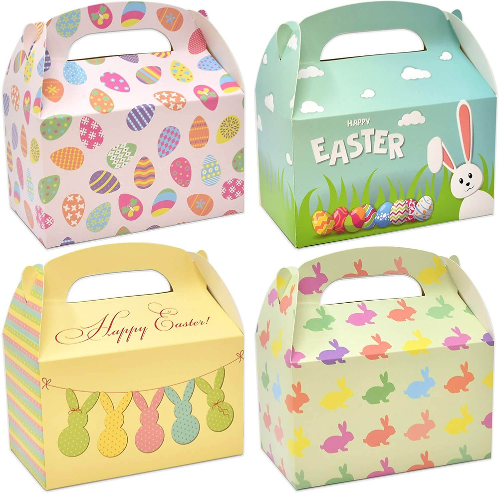 Easter gift baskets.