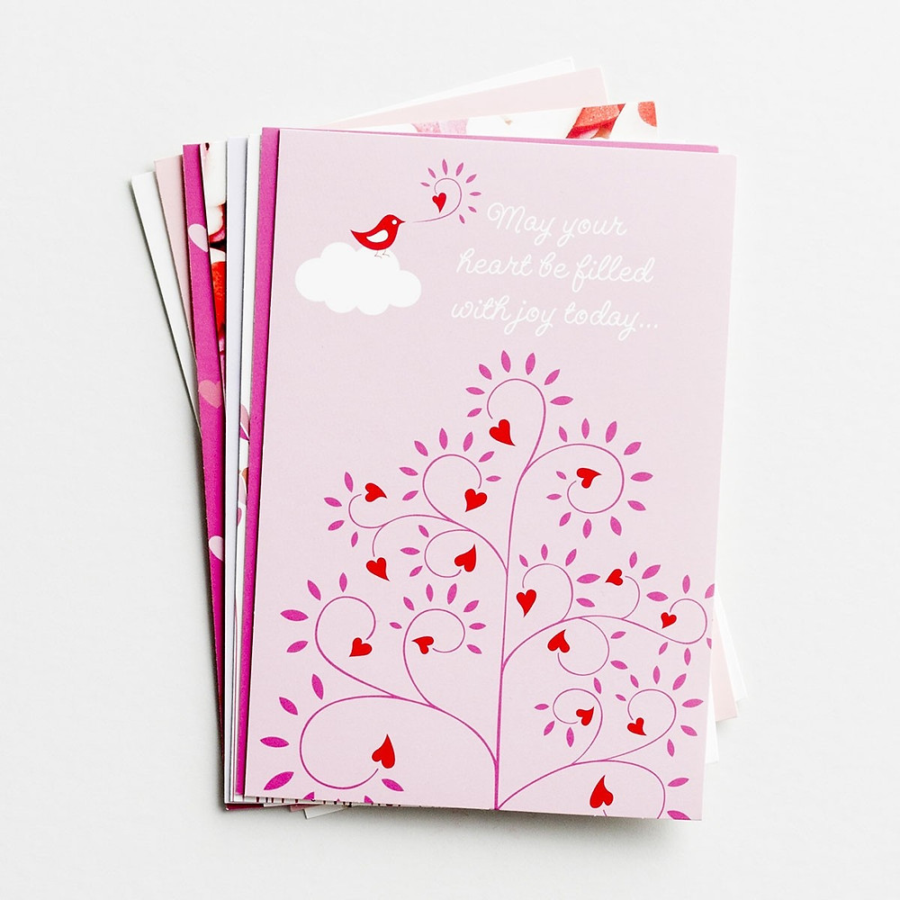 boxed valentine cards