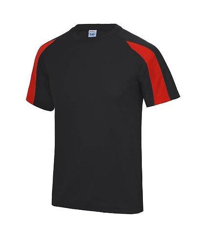Contrast Technical T-Shirt