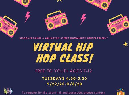 Fall Hip Hop Class: Ages 7-12