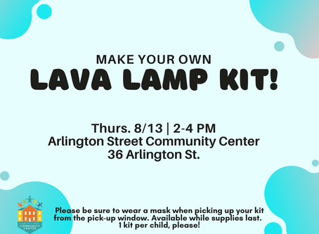 8/13 To-Go Kit: Make Your Own Lava Lamp!