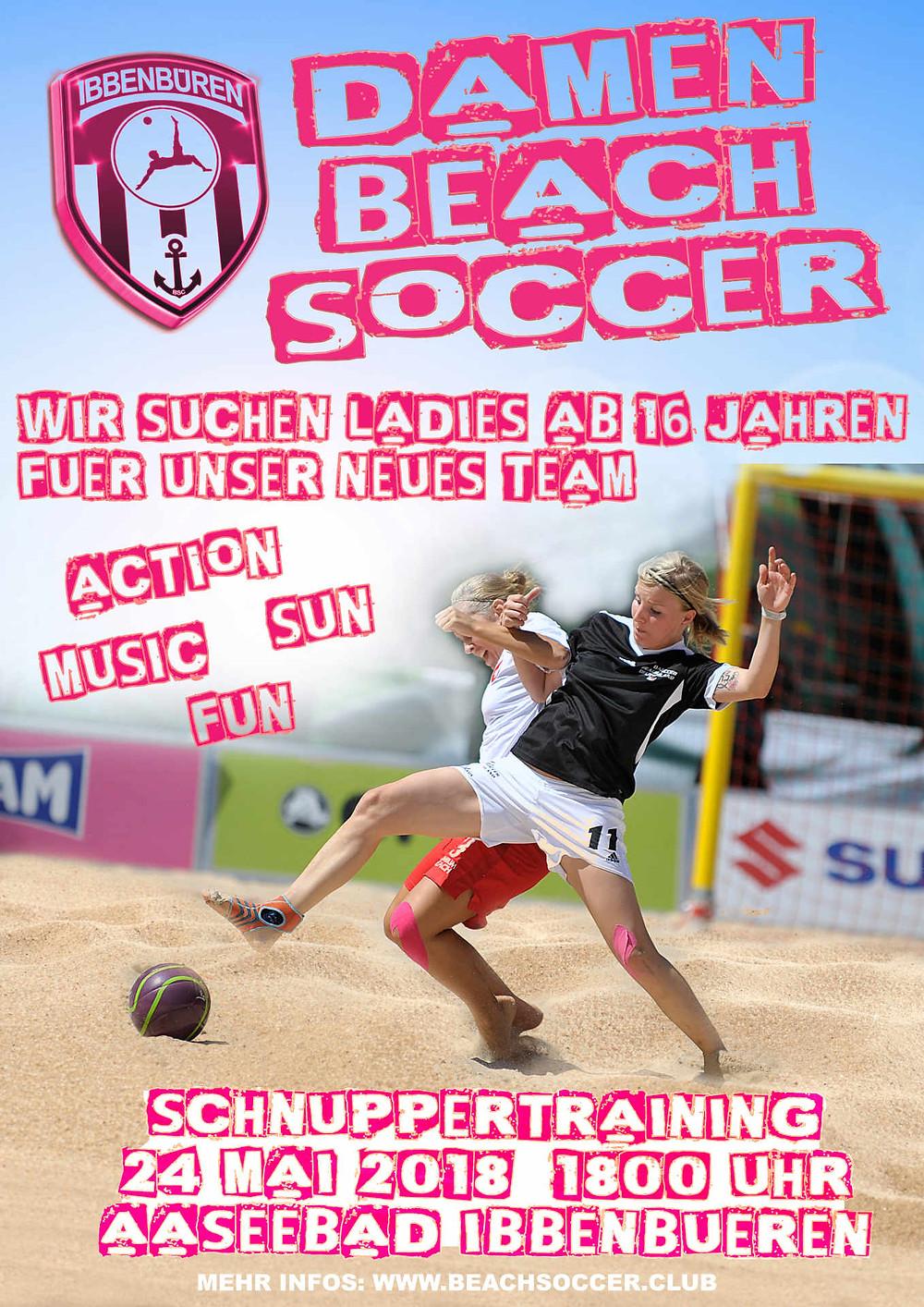 Damen Beach Soccer