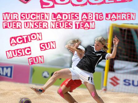 ++ Damen Beachsoccer Schnuppertraining am 24.05.18 ++