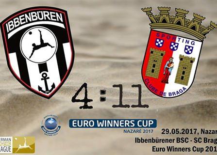 Spielbericht: Ibbenbürener BSC 4 - 11 SC Braga